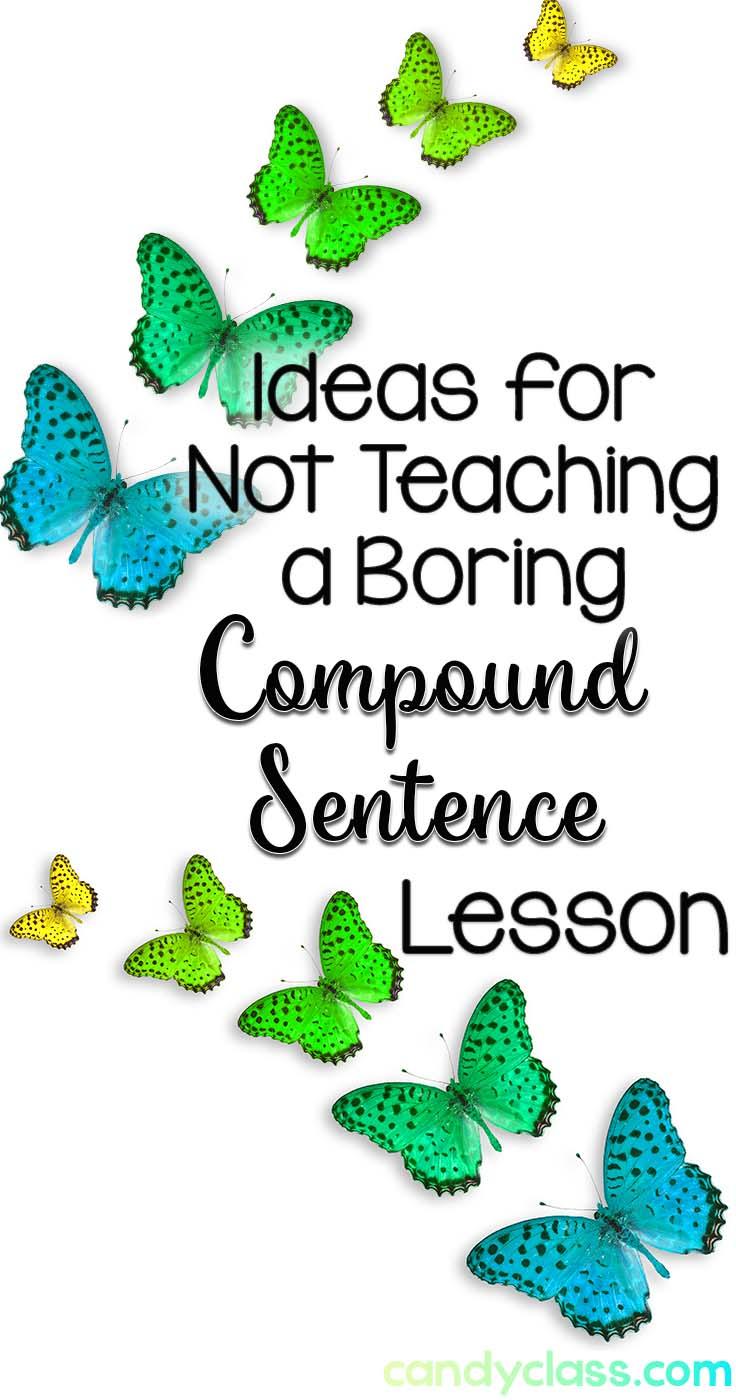 Ideas about teaching compound sentences