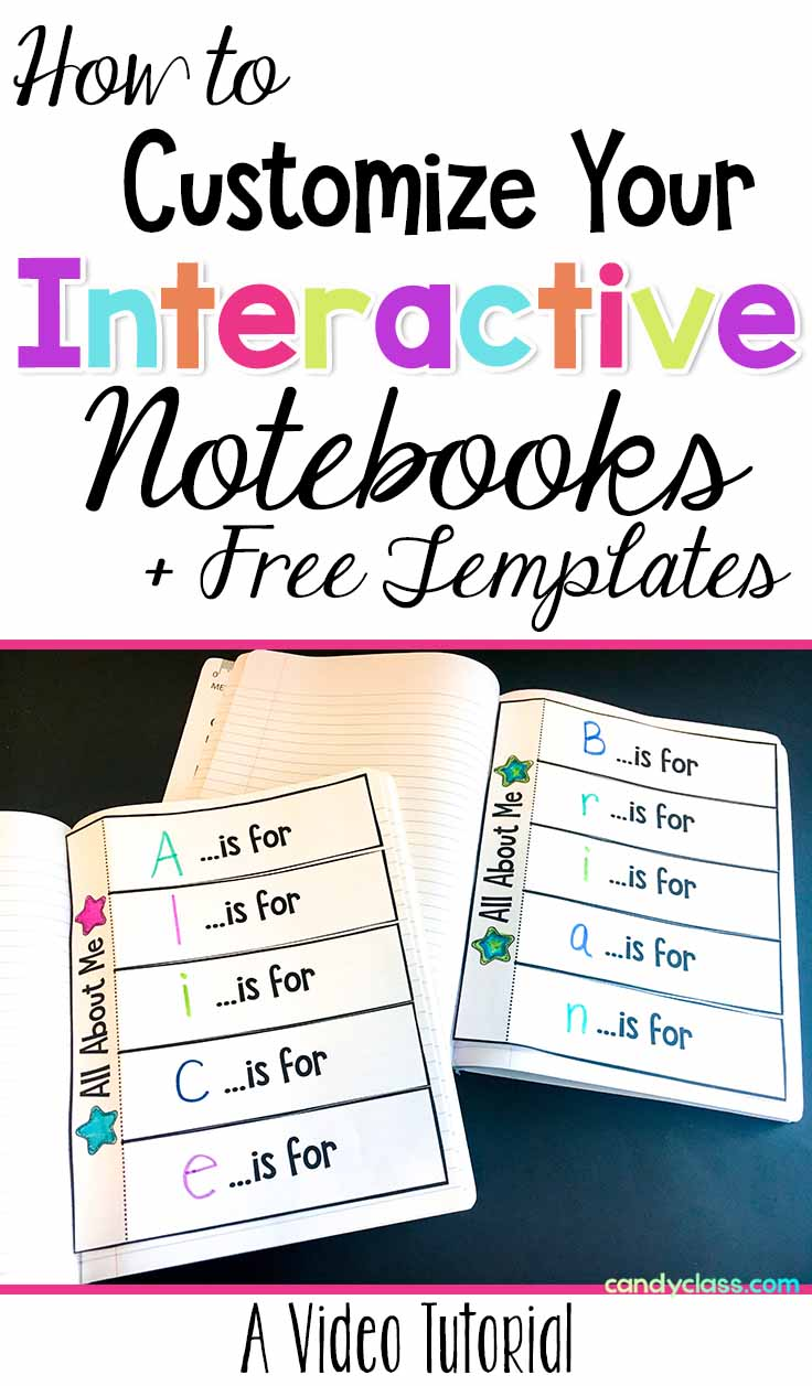 Get free interactive notebook templates